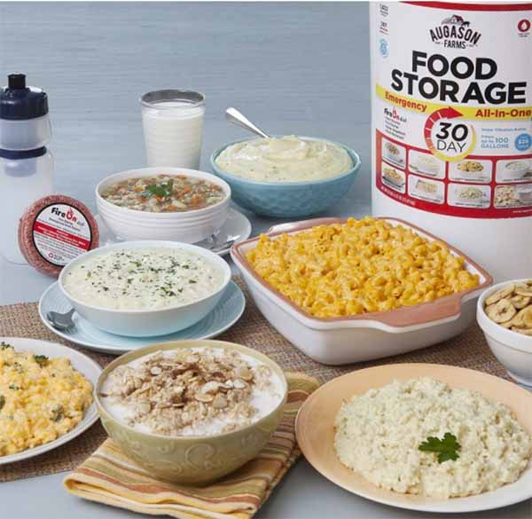 doomsday prepper food list augason 30 day  sc 1 st  Survival Jar & Doomsday Preppers Food Storage Ideas List for the Modern Family ...
