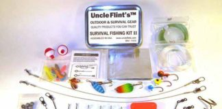military survival fishing kit