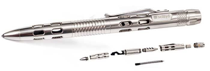 military grade tungsten steel tactical pen