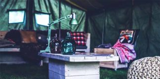 What do I need for camping