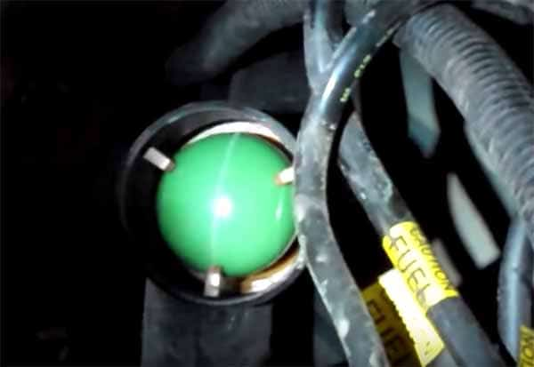 how to siphon petrol from a modern car anti siphon device gas tank green ball