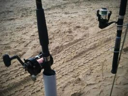 How to make fishing rod holders for bank fishing