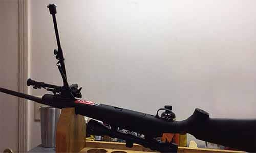 cleaning your rifle and sling stud bipod
