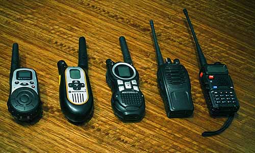 long range two way radio communication