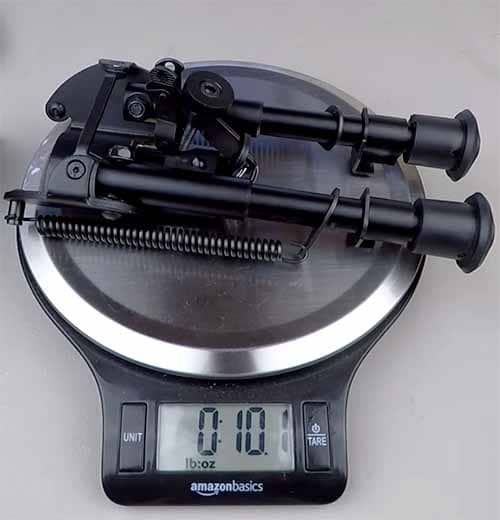 weight of sling stud bipod