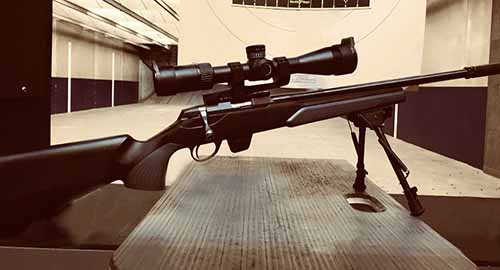 rabbit hunting .22 rifle tikka t1x
