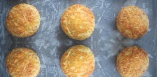 bacon and cheddar savory Scones