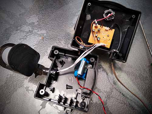 how to repair motion LED lights