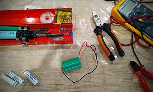 How to repair outdoor solar lights tools needed
