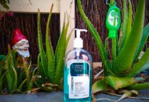how to make homemade hand sanitizer with aloe vera plant
