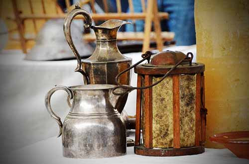 old jugs are perfect to hide money in at home