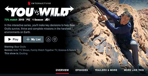 you vs wild bear grills tv show survival