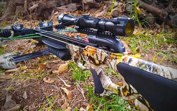 Barnett Droptine Crossbow sighting in